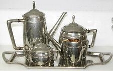 WMF Vintage Art Deco, coffee tea set metal chrome? teapot