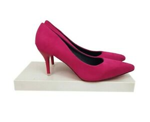 PINK Shoes Size 5 Pink Court Shoes Holiday Evening Party Wedding Office