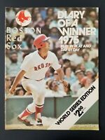 VINTAGE ~ 1975 Boston Red Sox  *Diary of a Winner, World Series Edition*   M1983