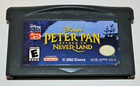 *DISNEY'S PETER PAN: RETURN TO NEVER LAND NINTENDO GAMEBOY ADVANCE GBA SP