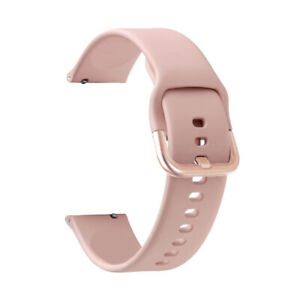 For Samsung Galaxy Watch Active 2 40mm 44mm Silicone Sport Band Strap 45/46mm S3