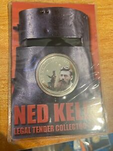 Ned Kelly Legal Tender Collector Coin - Melbourne
