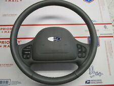 98-04 Ford Crown Victoria Steering Wheel With Driver Airbag Gray OEM # 2