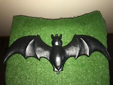 "Vintage Halloween 22"" Union Don Featherstone Black Blow Mold Bat Yard Decor #A"