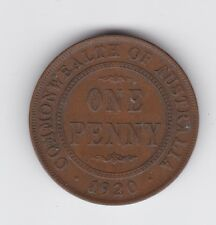 1920 dot below Penny Commonwealth Australia Coin P-269