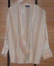 REPEAT SILVER EDITION CARDIGAN - SIZE 38 - GOOD ORDER