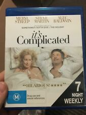 It's Complicated ex-rental BLU RAY (2009 Meryl Streep Steve Martin comedy movie)