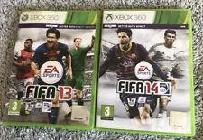 Fifa 13+ 14 Xbox 360 Bundle Football 2 Games