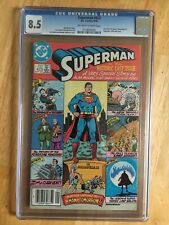 Superman 423 CGC Graded 8.5 DC Comics Alan Moore