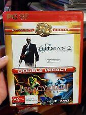 Double Impact - Hitman 2 & Legacy of Kain - PC GAME - FAST POST *