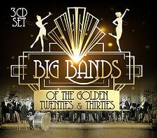 Jazz CD Big Bands Of The Golden Twenties & Thirties von Various Artists 3CDs