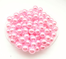 New 4mm/6mm/8mm/10mm Acrylic Round Pearl Spacer Loose Beads Free Ship