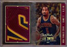 2016-17 PANINI PREFERRED THE FINALS J.R. SMITH LETTER PATCH BOOKLET 1/4!! WOW