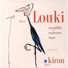 CD Live au théatre Kiron 1999  ~ Pierre Louki