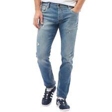 JACK /& JONES uomo LIAM NUOVO 014 Originale Jeans Skinny Fit Look Usato scuro