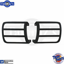 69 Camaro RS OUTER Head Light Lamp Door Cover Insert PAIR - Made in the USA