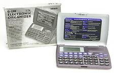 G-Lab DB1610 Electronic Organizer PDA Phonebook Memo Calendar NOS