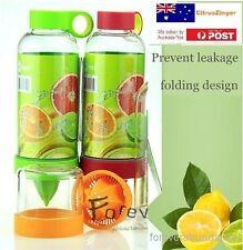 Citrus Zinger Juice Lemon Bottle Drinking Water Bottle Twist Infuse