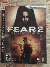 F.E.A.R. 2: Project Orogon Fear 2 PS3 Playstation Video Game
