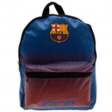 Barcelona Official Crested Junior Nylon Backpack School Bag Junior School Gift