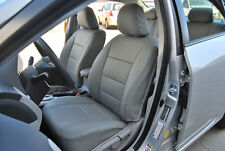 TOYOTA COROLLA 2003-2008 IGGEE S.LEATHER CUSTOM SEAT COVER 13 COLORS AVAILABLE