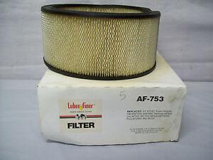 LUBER FINER AIR FILTER AF-753 GMC CHEVROLET TRUCKS  WIX 46220, DONALDSON P524369