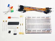 Breadboard Arduino Atmega328p Parts Kit With Arduino Uno Bootloader Breadboard