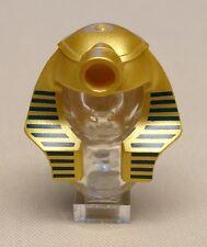 x1 NEW Lego Mummy Pharaoh Minifig Headgear Headdress Hat METALLIC GOLD