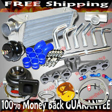 T4 Cast Manifold Turbo Kits for 93-98 Toyota Supra 3.0L 2997CC DOHC 2JZ-GTE ONLY