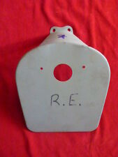support plaque immatriculation moto royal enfield n°7