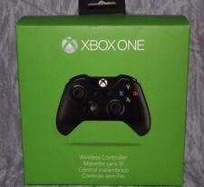 Genuine Microsoft XBOX ONE & S Video Game Wireless Controller BLACK US Seller @8