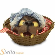 Wolf Head In Basket Red Riding Hood Halloween Fancy Dress Costume Prop