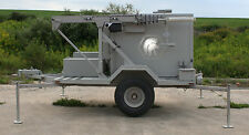 CCTV, Construction Security PTZ Camera, trailer, AC, Battery, 40' mast, Wi-Fi