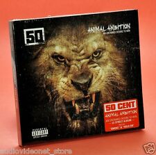 50 CENT ANIMAL AMBITION CD DVD nuovo rap HipHop
