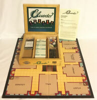 Cluedo? Wooden Box Edition Board Game 2003 Parker Nostalgia Series 100% Complete