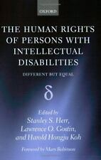 The Human Rights of Persons with Intellectual Disabilities : Different but...