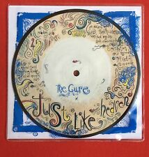 THE CURE - Just Like Heaven - Rare UK Picture disc in Custom printed PVC sleeve