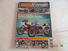 MOTO LEGENDE N°237 09/2012 DUCATI 900 SS MARTIN HONDA 750 CBK    E22