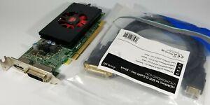 Dell AMD HD 8570 1GB Displayport DVI HDMI Cable Low Pro Video Card Windows 10