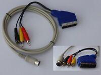 Commodore C64/C128 Kabel universal S-Video+Composite 1 Meter.