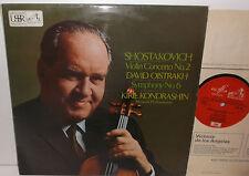 ASD 2447 Shostakovich Violin Concerto No2 David Oistrakh Moscow Phil Kondrashin