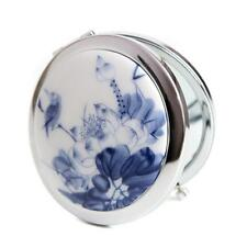 Ceramic Compact Pocket Folding Makeup Cosmetic Magnifying Mirror Best Useful au