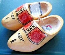 Holland Dutch Hand Painted Child Size 13-1/2 cm Wooden Shoes/Clogs~New W/Tags