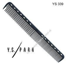 Y S Park PETTINE YS - 339 NERO CARBONIO PARRUCCHIERE alta qualità di taglio PETTINE