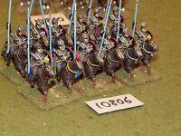 25mm roman era / roman - late heavy cavalry 12 cavalry - cav (10806)