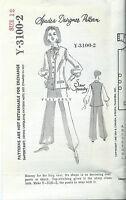 60's Spadea Designer VEST sewing pattern sew size 12 vintage 1968 mail order HTF