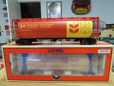 Lionel Government of Canada Cylindrical Hopper Std. O Scale, 6-27113 Nice  C-9+