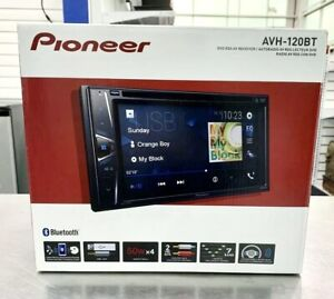 NEW Pioneer AVH120BT 6.2 Inch Double Din DVD/MP3/CD Player FREE FAST SHIPPING