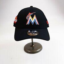 New Era 9forty Strapback cap 100%authentic MLB black Miami Marlins