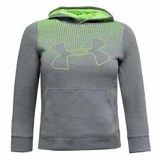 Under Armour Boys Hoodie Graphic Sweatshirt Grey 1299352 036